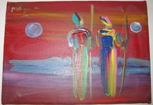 Peter MAX - Pintura - Couple