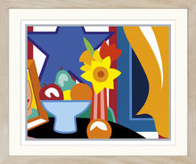 Tom WESSELMANN (1931-2004) - Still life with yellow curtain