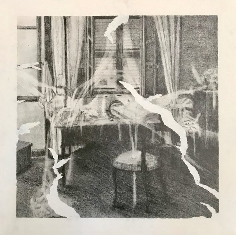 Marie DONNEVE - Dessin-Aquarelle - « Sans titre 1 »