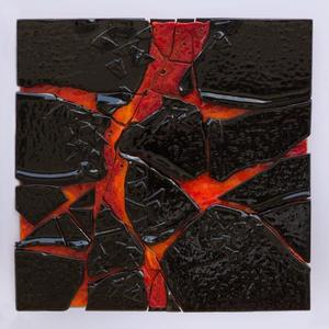 Marianne HAAS - Painting - Lava 1