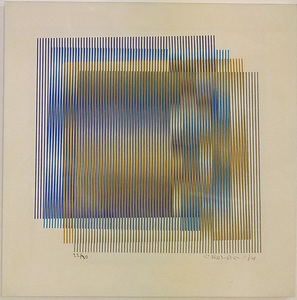Carlos CRUZ-DIEZ - Estampe-Multiple