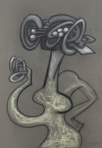 Roberto MATTA - Drawing-Watercolor - Personnage