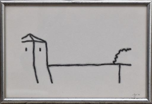 Tino STEFANONI - Drawing-Watercolor - Senza titolo