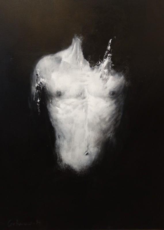 Adolphe Carbon BONQUART - Peinture - Buste 4.5.9