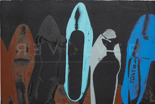 Andy WARHOL - Grabado - Shoes (FS II.257)