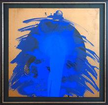 Otto PIENE - Estampe-Multiple - Blue anatomy