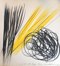 Hans HARTUNG - Drawing-Watercolor - Grohmann Will, Aquarelle 1922