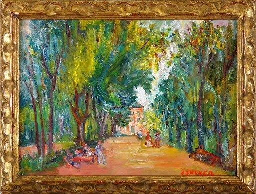 Jacques ZUCKER - Gemälde - Park Avenue