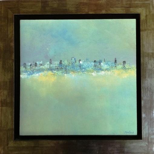 Pascal BOUTERIN - Painting - la ville