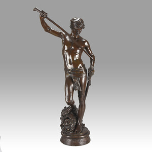 Antonin MERCIÉ - Sculpture-Volume - David Vainqueur