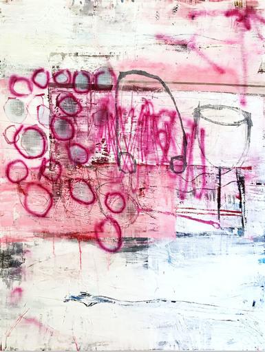 Manuela Karin KNAUT - 绘画 - Wanderlust (Abstract painting)