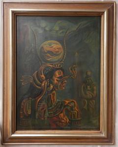 Jakub BAUERNFREUND - Painting - Woman