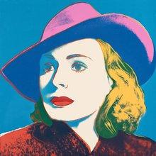 Andy WARHOL - Print-Multiple - Ingrid Bergman With Hat