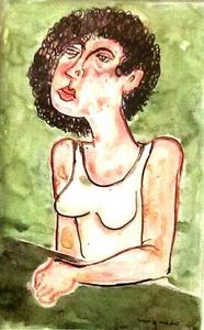 Giuseppe MIGNECO - Painting - figura