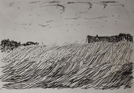 莫里斯•德•弗拉芒克 - 版画 - Paysage