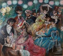 Emilio GRAU-SALA - Painting - LE MOULIN DE LA GALLETE