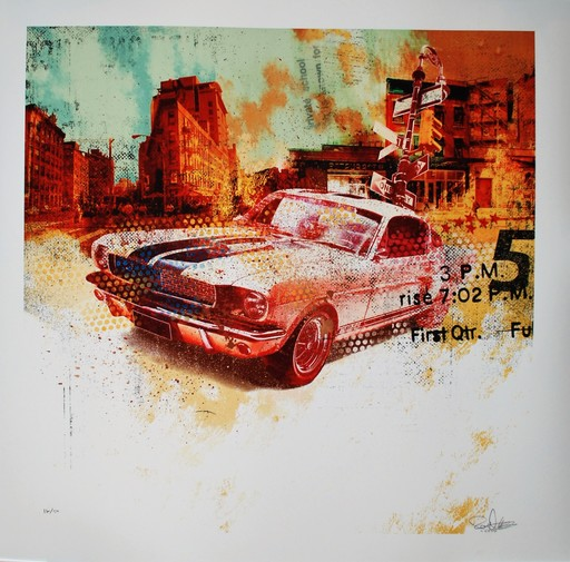 Robert HILMERSSON - Print-Multiple - Mustang