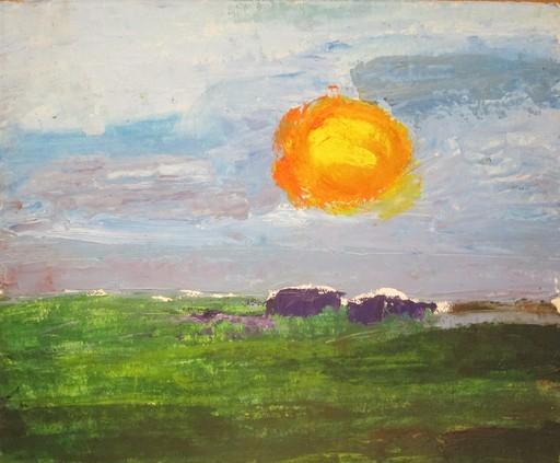 Federico JIMÉNEZ Y FERNÁNDEZ - Painting - Pampa