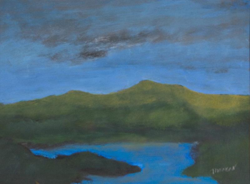 Douglas THOMSON - Pintura - Dark Loch
