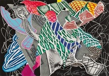 弗兰克•斯特拉 - 版画 - Hudson River Valley