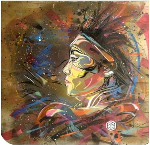 C215 - Pittura - Flying