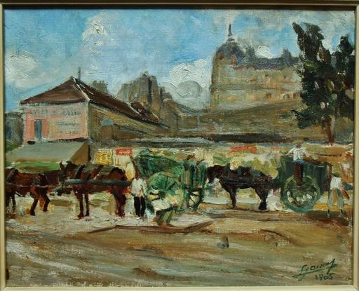 Lucien Hector JONAS - Peinture - Avenue de Breteuil