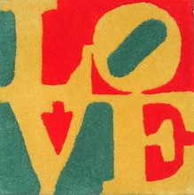 Robert INDIANA - Tapiz - summer love