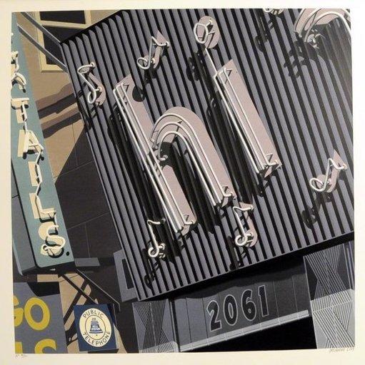 Robert COTTINGHAM - Estampe-Multiple - Hi