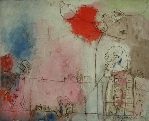 Franco ROGNONI - Painting - Ma quando?