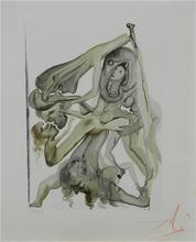 萨尔瓦多·达利 - 版画 - Divne Comedy Hell Canto 11