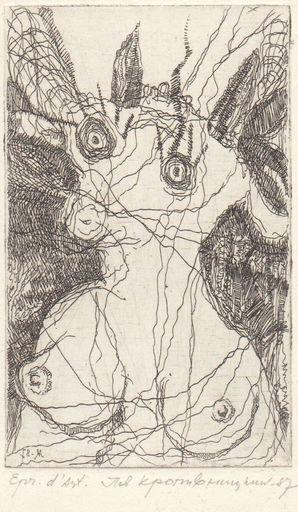 Lev KROPIVNITSKY - Print-Multiple - goat