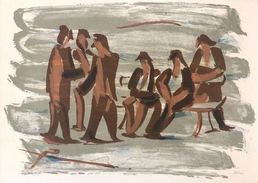 Jean HÉLION - Print-Multiple - Force de la mer II