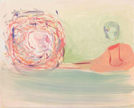 Amy SILLMAN - Peinture - Senza titolo