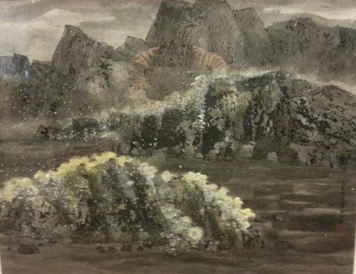 WANG Jiqian - Pittura - Untitled