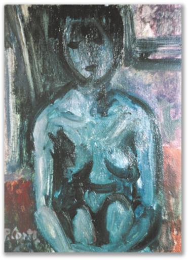 Primo CONTI - Gemälde - Nudo
