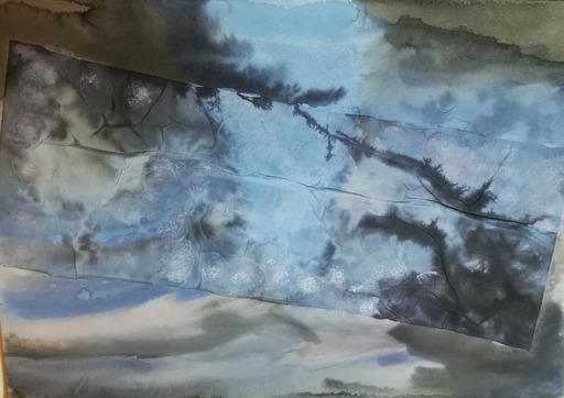 Lorena ULPIANI - Drawing-Watercolor - Fondali dell'anima - drawings collection - mixed media