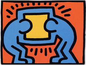 Keith HARING, Pop Shop VI (2)