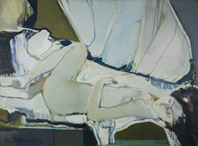 Mikhaïl TUROVSKY (1933) - Reclining Nude