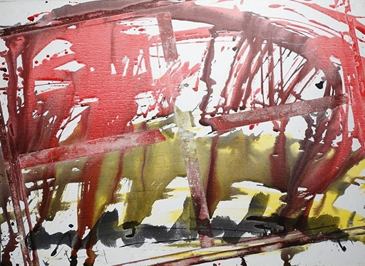 Anton HEIJBOER - Painting - Action painting