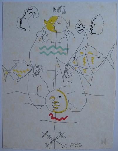 Raymond  MORETTI & Jean  COCTEAU - Print-Multiple - LITHOGRAPHIE SIGNÉE NUM/29 SIGNED NUMB LITHOGRAPH