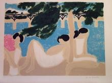 安德烈·布拉吉利 - 版画 - Pont des Arts, 1965