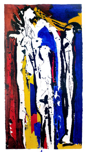 Judith WOLFE - Peinture - Mémoires III