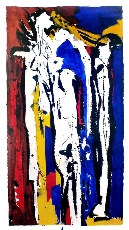 Judith WOLFE - Painting - Mémoires III