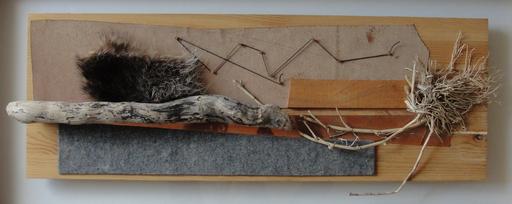 Bruno MUNARI - Sculpture-Volume - Tavola Tattile n. 15