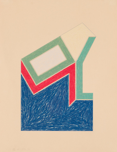 Frank STELLA - Estampe-Multiple - Moultonville