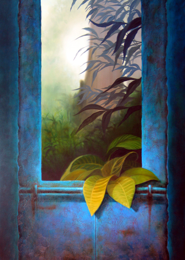 Ricardo MORAGA FUENTES - Pintura - Silencioso secreto | Silent Secret