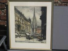 Luigi KASIMIR (1881-1962) - Wien, Graben, Stephansdom