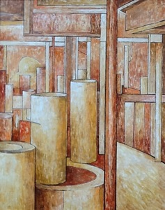 Isabel PIRE - Pintura - Tubular  Bells