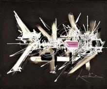 "Georges MATHIEU - Peinture - ""URUBITINGA"" - 1979"