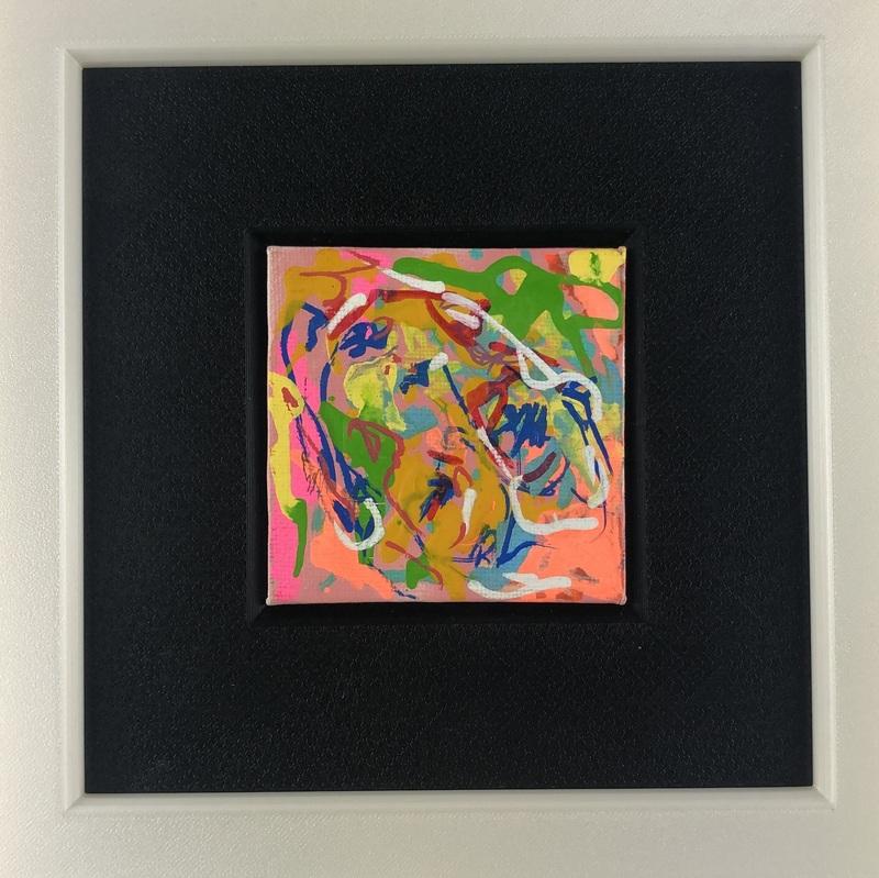 Nicole LEIDENFROST - Gemälde - Bunte Gedanken